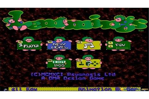 Lemmings gameplay (PC Game, 1991) - YouTube