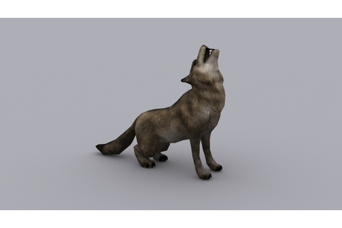 animated WOLF GAME READY ANIMATED MODEL | CGTrader