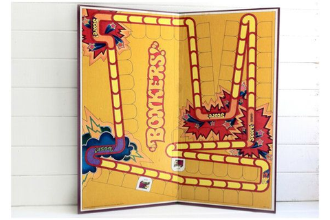 Bonkers Game Board / 1970s Game Board / DIY Crafts / Retro ...