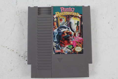 NES Panic Restaurant Game Cartridge With Dust Sleeve ...