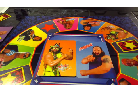 WWF Wrestling Championship Board Game Rules & Review - YouTube