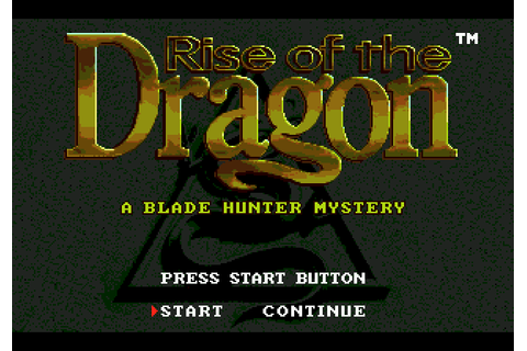 Rise of the Dragon (1992) by Dynamix / Game Arts / Bits ...