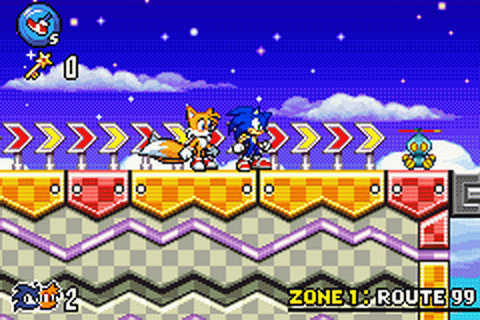 Play Sonic Advance 3 Nintendo Game Boy Advance online ...