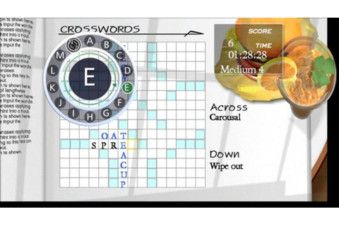 Coffeetime Crosswords (2010) by Konami X360 game