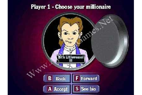 Who Wants to Beat Up a Millionaire PC Game - Free Download ...