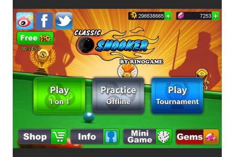 Classic Snooker app: insight & download.