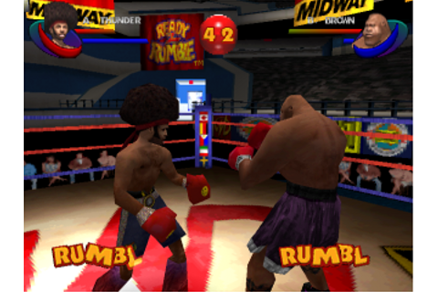 Play Ready 2 Rumble Boxing - Round 2 Sony PlayStation ...