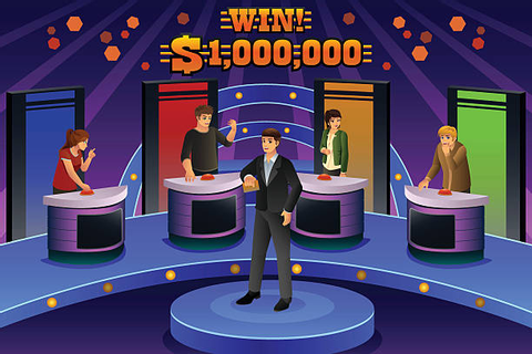 Best Game Show Host Illustrations, Royalty-Free Vector ...