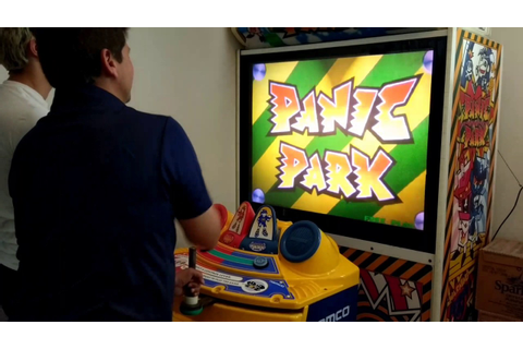 Namco Panic Park For Sale, very rare video game - YouTube