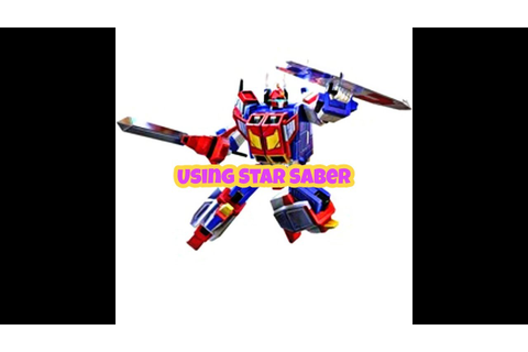 Transformers Earth Wars: How to use 4☆ Star Saber - YouTube