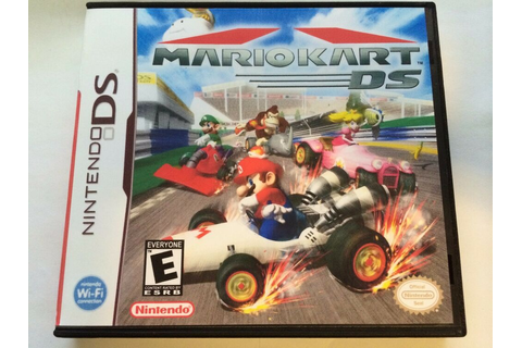 Mario Kart DS - Nintendo DS - Replacement Case - No Game ...