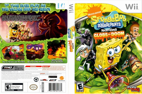 RUSE78 - SpongeBob SquarePants featuring Nicktoons: Globs ...