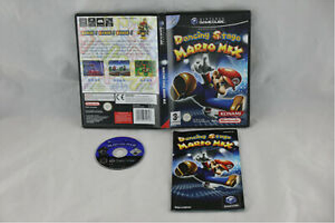 Game dancing stage mario mix for nintendo gamecube gc pal ...