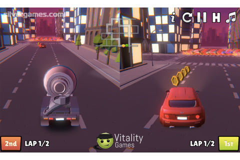 2 Player City Racing - Free Online Game on Silvergames.com