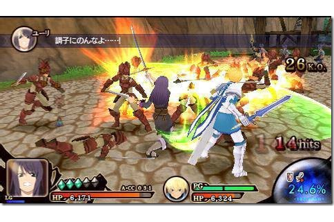 Tales of the Heroes - Twin Brave (Japan) ISO