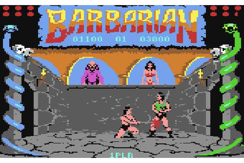 The Games We Played – Barbarian: The Ultimate Warrior (C64 ...