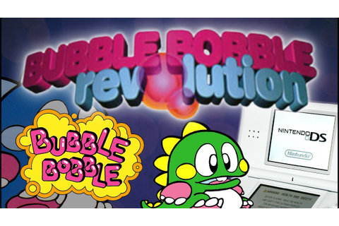 Bubble Bobble Revolution - Classic Arcade Game on Nintendo ...