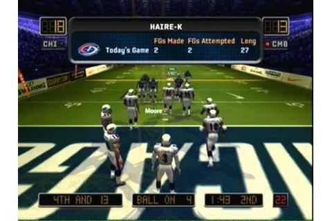 Arena Football Gameplay: Chicago vs. Columbus [2/2] - YouTube