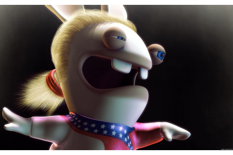 Wallpapers Video Games > Wallpapers Rayman Raving Rabbids ...