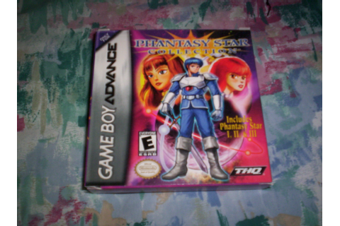 My GBA Games #6: Phantasy Star Collection | JDawg182885468 ...