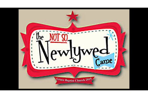 Grace Baptist Church - Not So Newlywed Game 2015 - YouTube
