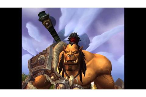 World of Warcraft: Warlords of Draenor - Grommash ...