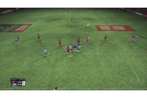 Rugby League Live 2 - State of Origin Match - IGN Video