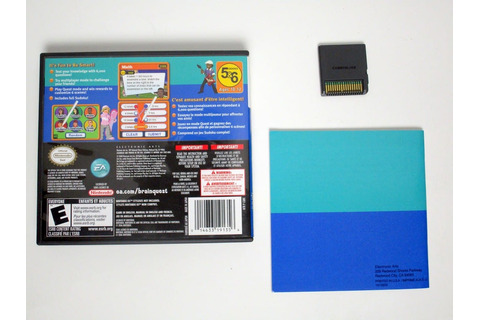 Brain Quest Grades 5 & 6 game for Nintendo DS (Complete ...