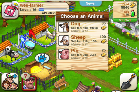 We Farm iPhone & iPad game app review | AppSafari
