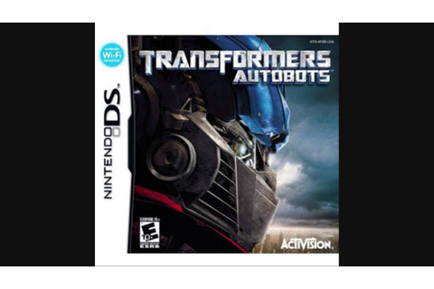 Transformers Autobots zip Nintendo DS ROM - YouTube