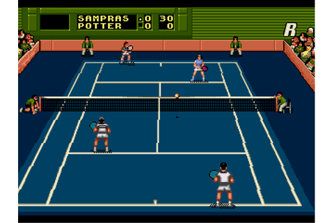 Download Pete Sampras Tennis 96 (Genesis) - My Abandonware