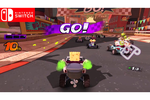 Nickelodeon Kart Racers | Debut Gameplay Trailer ...