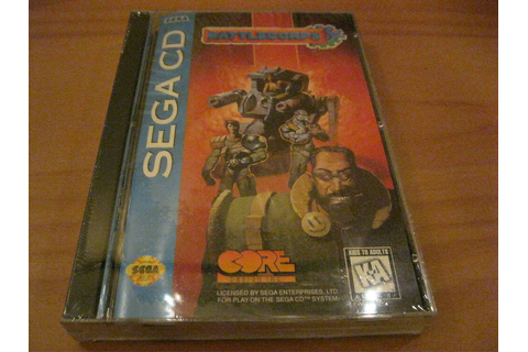 BATTLECORPS SEGA CD GAME FACTORY SEALED NEW COMPLETE ...