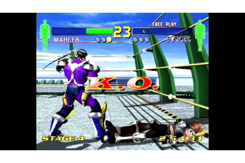Fighting Vipers 2 (DC) - YouTube