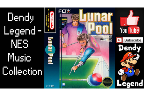 Lunar Pool NES Music Song Soundtrack - Game Theme [HQ ...