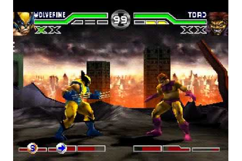 X-Men Mutant Academy (PLAYSTATION) Inv as Wolveriene - YouTube