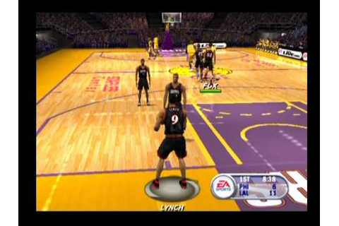 NBA Live 2002 ... (PS2) - YouTube