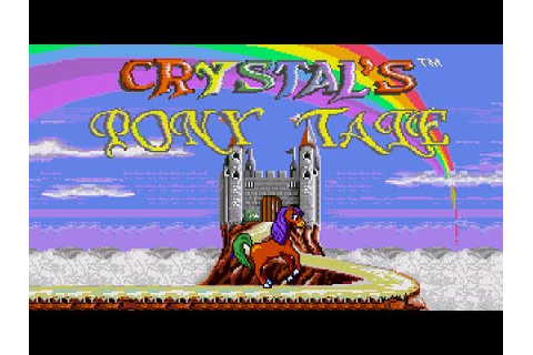 [Full GamePlay] Crystal's Pony Tale (Hard Mode) [Sega ...