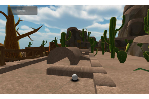 Mini golf games Cartoon Desert for Android - APK Download