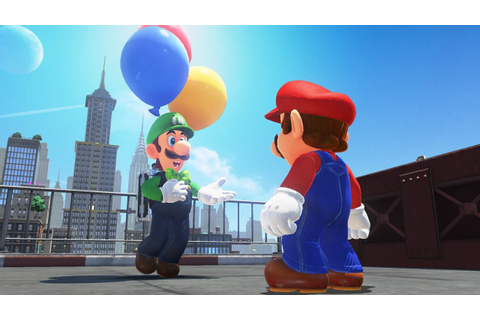 New Mode, and Luigi, Headed to Super Mario Odyssey ...