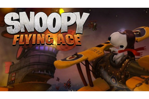 Snoopy Flying Ace Demo - YouTube