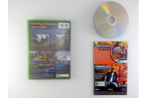 Cabela's Big Game Hunter 2005 Adventures game for Xbox ...