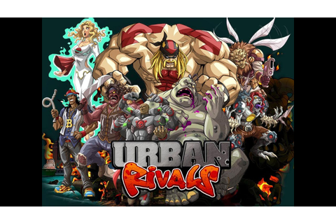 Best card game??!! Urban Rivals - YouTube
