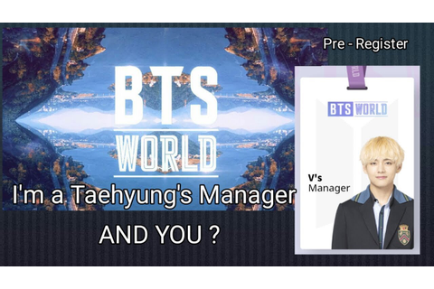 BTS WORLD Game Pre - Register, Which Member are you? - YouTube