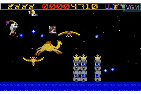 Fiche du jeu Revenge of the Mutant Camels sur Atari ST ...