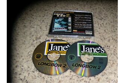 Jane's Combat Simulations Longbow 2 (PC, 1997) Game | eBay