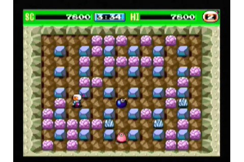 Bomberman '93 (TurboGrafx-16/PCE) gameplay - YouTube