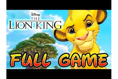 The Lion King: Simba's Mighty Adventure FULL GAME Movie ...