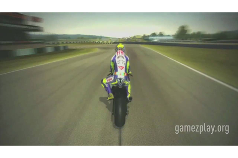 Moto GP 09/10 bike racing video game trailer - YouTube