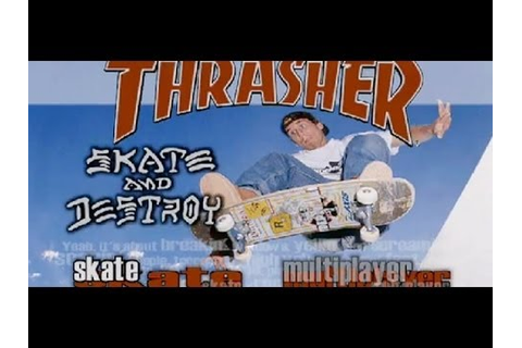 Thrasher Skate & Destroy Review - YouTube
